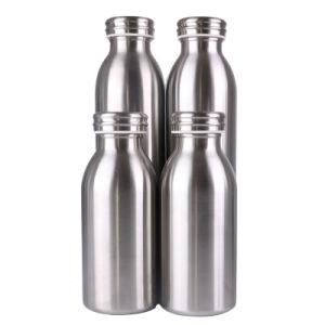 De dubbele Thermosflessen van de Muren van de Fles van het Water van de Sport van de Fles van het Staal van de Fles van de Melk van Inox van de Fles van het Water van het Roestvrij staal van Muren Geïsoleerded Tweeling