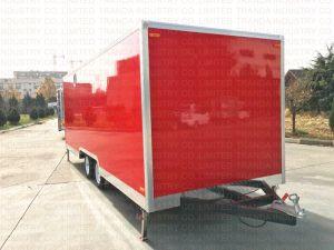 Cucina mobile americana Van degli alimenti a rapida preparazione di stile