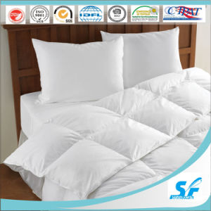 Goose Down Fillingの単一のBed White Hotel Quilt