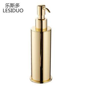 Латунные Dispener Soap с золотым покрытием