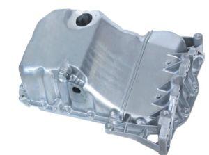 El cárter de aceite para VW Audi piezas de automóviles, el cárter de aceite de aluminio