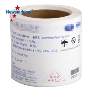 Самоклеящаяся виниловая пленка высокого качества Clear и пользовательские метки клей на наклейке