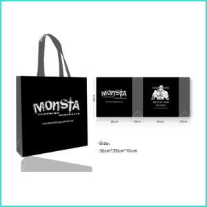 OEMのカスタムロゴの印刷再生利用できるPPのNon-Wovenの非編まれたFoldable戦闘状況表示板のギフトの昇進の食料品の買い物袋
