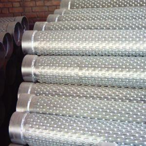 Ponte de aço de carbono nas telas de poços de água com fenda para a abertura de poços