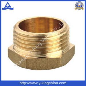 El casquillo de bronce el racor con rosca BSP (YD-6002)