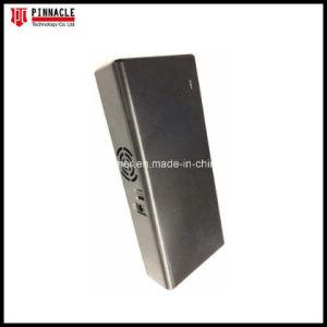 3CH antenas internas militar de mano de la batería interna del bloqueador de teléfonos móviles de aislamiento de la señal de protección de las señales GPS Jammer