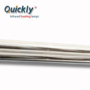 As lâmpadas de aquecimento por infravermelhos tubular de quartzo para fins industriais Forno Túnel de infravermelho