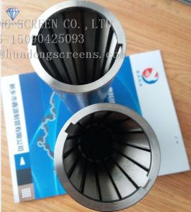 Filtro dal tubo saldato collegare automatico del cuneo scanalato della candela filtrante di Miscella