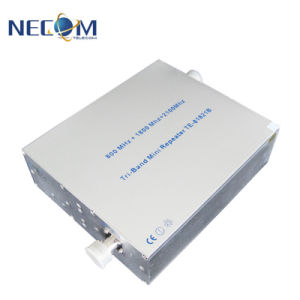 Amplificador de señal de banda dual te8021b es la intención de reforzar la señal de 850MHz y 2100MHz. Booster Vs repetidor celular