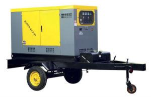Звукоизолирующие дизельного двигателя прицепа генераторной установки генераторной установки дизельного двигателя