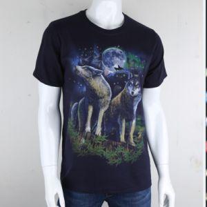 Nouveau design bon marché de gros hommes T-shirt d'impression