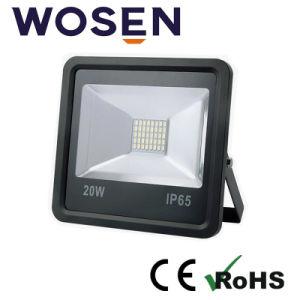 20W屋外ハイウェイの広場IP65 110lm/W LEDの洪水ライト