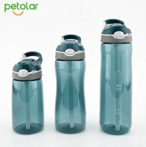 Gute Qualität Tritan BPA geben Sport-Stroh-Wasser-Flasche frei