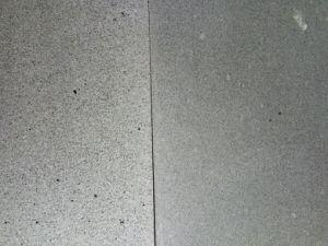 Mattonelle nere del basalto per la pavimentazione la