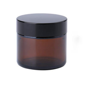 20g 30g 50g de vidro âmbar boião de creme de Embalagens cosméticas