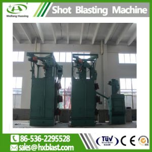Het Vernietigen van het Schot van het Type van Haak van de Spinner van Huaxing ISO Machine Zonder lucht, Industriële Schoonmakende Machines