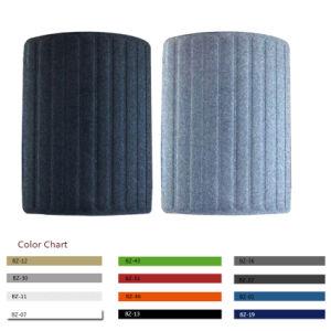 Büro-Möbel-Polyester-akustischer Faser-Arbeitsplatz