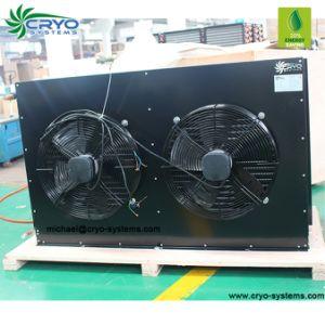 Quarto fresco condensador no compressor e condensador para caminhar no evaporador de refrigeração do arrefecedor