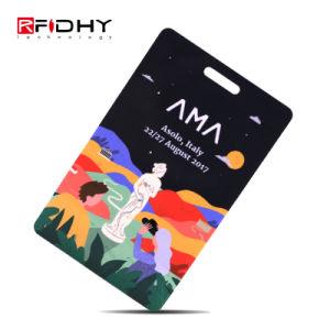 Des échantillons gratuits RFID Mifare 1K Carte de membre de PVC