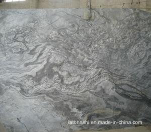 壁およびフロアーリングのための薄い灰色のスレートのタイル