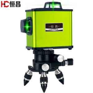 광속 Laser 수준이 12의 선에 의하여 녹색이 된다