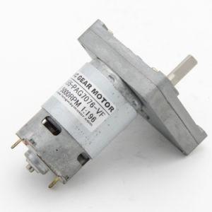 DC motorreductor con Caja de engranajes para aparato doméstico.