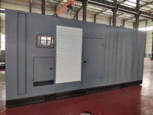 600квт 750 ква тихо Запустить дизельный генератор установлен низкий уровень шума Volvo Twd1643ge