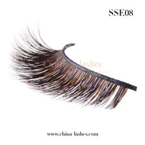 Handmade Fashion cosmétique de coups de fouet de fourrure de sable cils