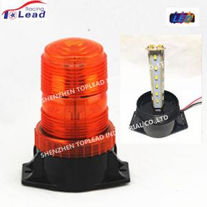 上の鉛110Vのストロボ標識のフォークリフトこはく色LEDのストロボの警告ランプ