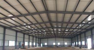 Venta caliente ecológica la construcción de la estructura de acero