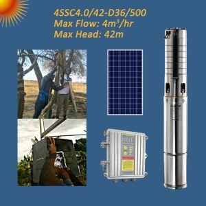 4D-36/500 ssc4.0/42 500W 4дюйм солнечной энергии на полупогружном судне Бесщеточный электродвигатель постоянного тока насоса