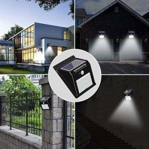 Témoin lumineux du capteur IRP Motion jardin extérieur lumières DEL SOLAR Motion activé lumière Mural extérieur