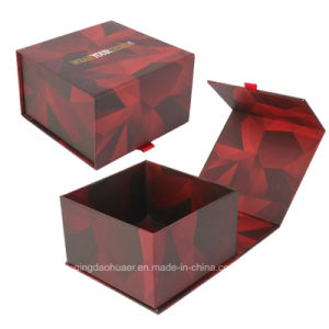 حجز [هندمد] عالة علامة تجاريّة طباعة يطوي مغنطيسيّة إغلاق ورق مقوّى [جفت بوإكس] مستحضر تجميل يعبّئ صندوق
