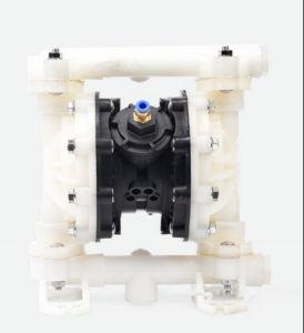 Qby-15 da Bomba de diafragma Pneumática de aço inoxidável 304, 0-1 m3/H com diafragma F46
