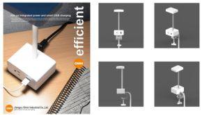 precio de fábrica LED lámpara de escritorio con el poder de la luz de lámpara de mesa