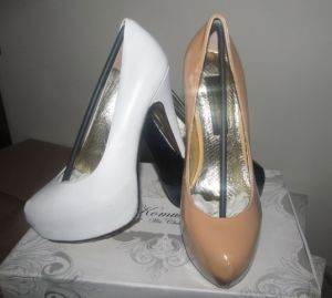 Nuevo estilo de la moda de tacón alto Zapatos de Vestir chicas
