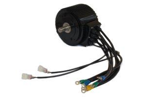 Alta eficiencia de 10 kw a 48V/72V/96V Motor sin escobillas para conversión de la moto eléctrica