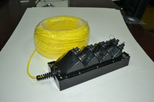 Водонепроницаемый корпус для установки вне помещений FTTX терминала Optitap в салоне