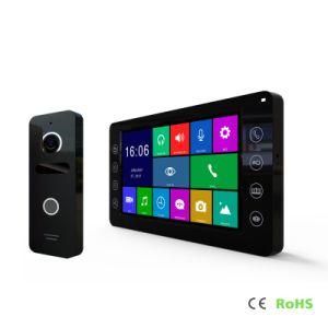 Casa de la memoria de alta definición de Intercomunicación de seguridad de 7 pulgadas de interfonía Video Doorphone