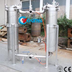 De industriële Huisvesting van de Filter van de Zak van de Ingang van het Roestvrij staal Duplex Zij