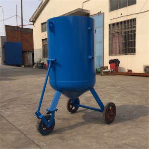 Máquina de jacto de areia seca com Turntable Equipos de Chorreado