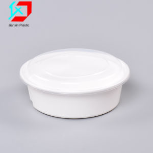 Одноразовые пластиковые продовольственной контейнер с отсеками