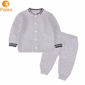 Mayorista de fábrica de tejido de algodón Bolsa bebé recién nacido Ropa de niños y niñas juegos de ropa