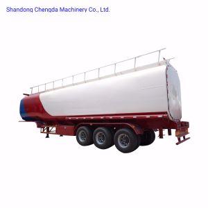 Chengda 2018 3 Ejes el depósito de acero inoxidable de 40cbm cisterna de combustible de dos o tres ejes remolque
