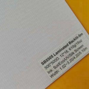 Alta qualidade de materiais de publicidade /Backlit laminado de PVC Banner Flex
