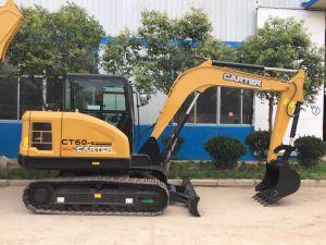 Carter60-9 CT 6ton excavar sobre orugas hidráulica excavadora retroexcavadora remolcable multifunción