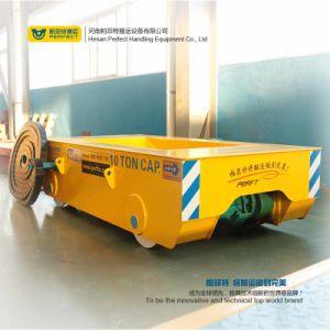 Trasporto materiale pesante della fabbrica in vagonetto della Battery