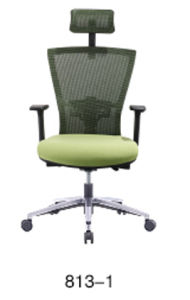Mobiliário moderno de malha Ajustável Office Cadeira Computador Executivo (819-1)