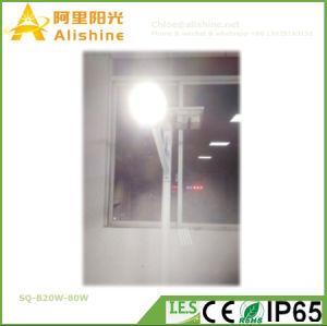 Painel Solar Luz Rua Ajustável Semi-Seprated luzes LED