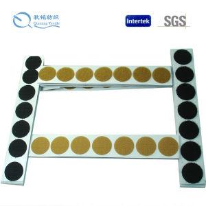 Puntos de encargo materiales de nylon del pegamento de la talla